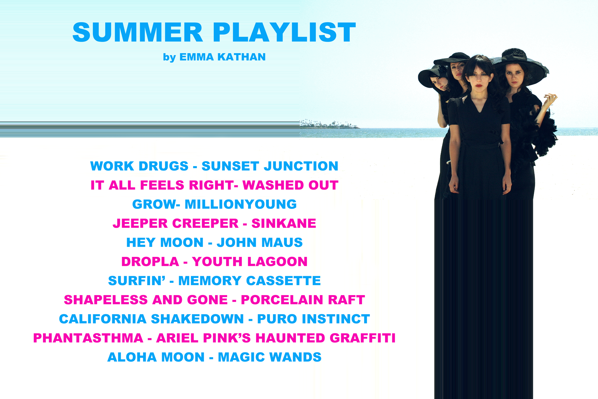 Emma Kathan Summer Playlist